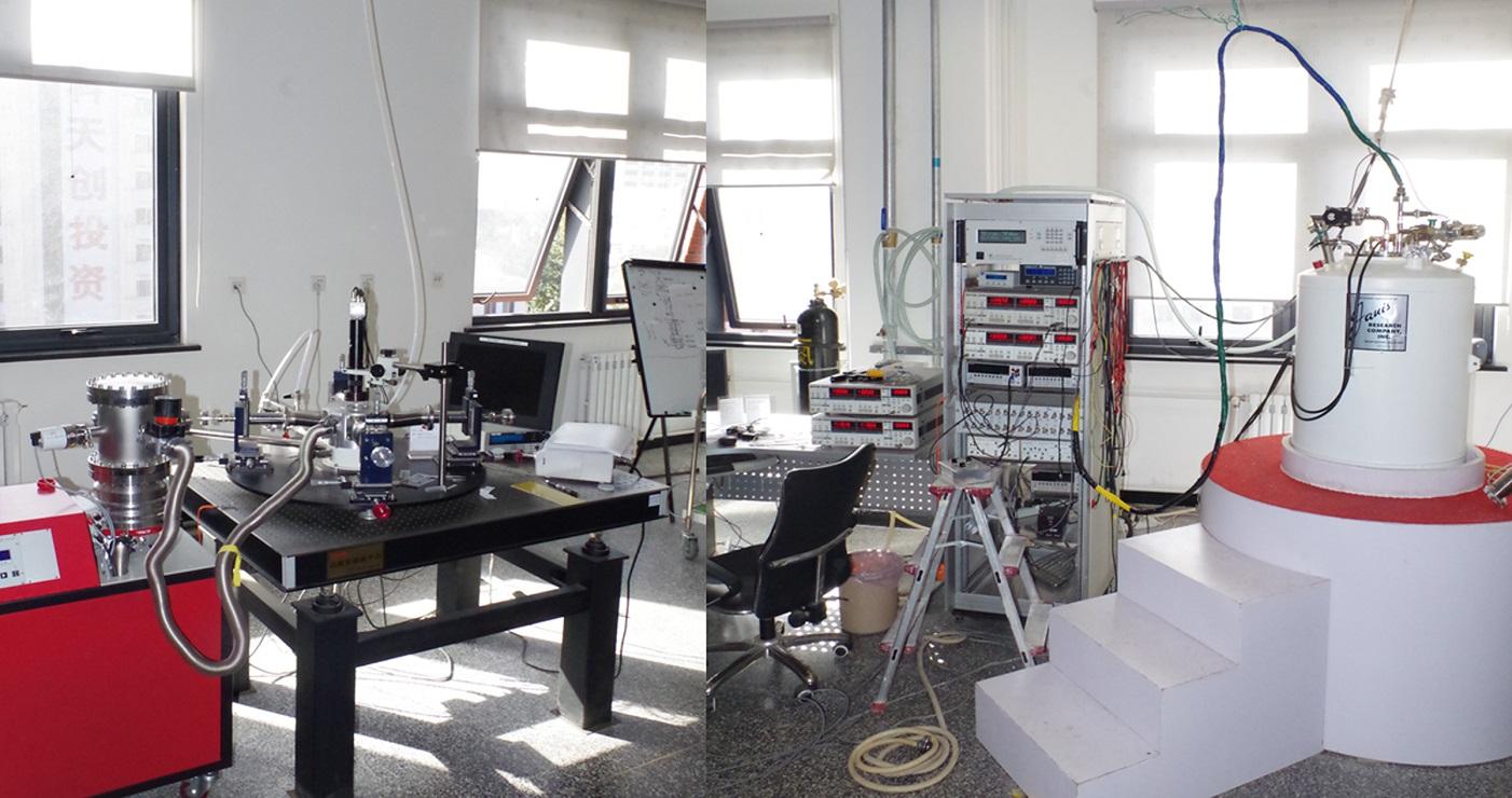 介观材料电输运性质测试系统