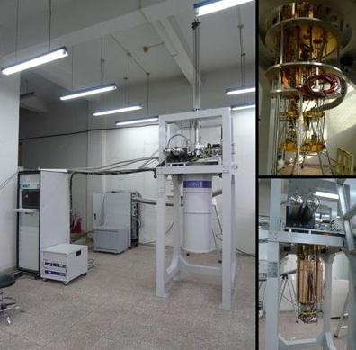 牛津Triton无液氦稀释制冷机